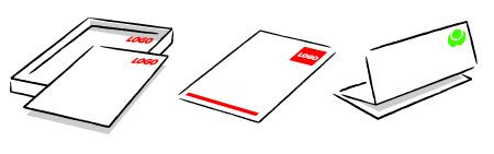 Illustrtie briefpapier