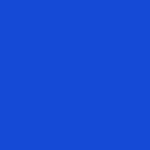 Etiket Mat Blauw