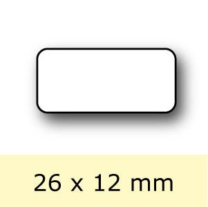 Etiket-Rol-26x12mm