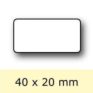 Etiket-Rol-40x20mm