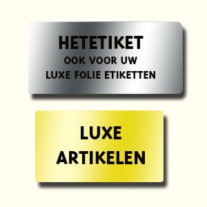 Follie etiketten