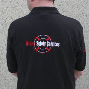 Poloshirt met geborduurd logo