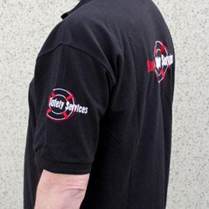 Polo shirt met geborduurd logo