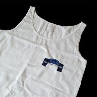 Bedrukt textiel: Hemdje Front