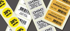 Printservice voor etiketten op rol