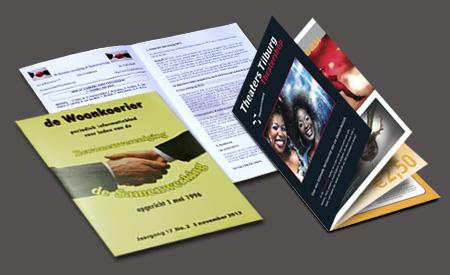 Brochures A4 en A5