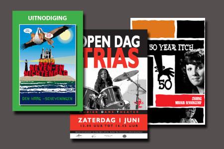 Posters op A3 en A4 formaat