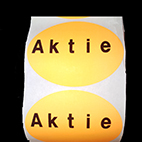 Aktie sticker